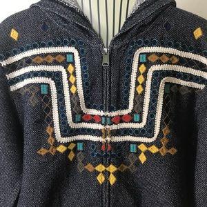 Adorable Lucky Brand Zip Up Sweatshirt